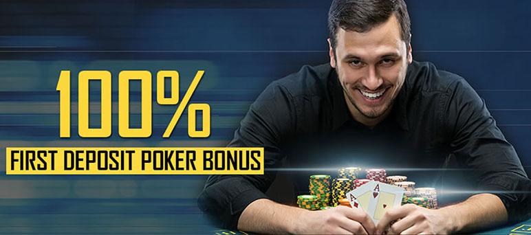 100% бонус на первый депозит от SportsBetting Poker