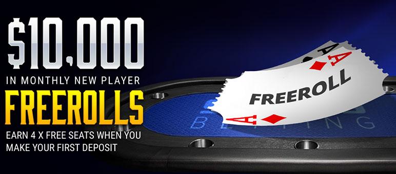 фрироллы SportsBetting Poker